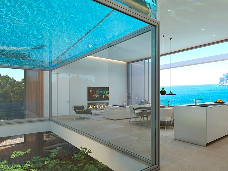 The luxury home swimming pool - Best home swimming pools ...