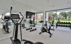 high spec luxury at home gym
