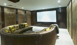 luxury home cinema, aspire homes